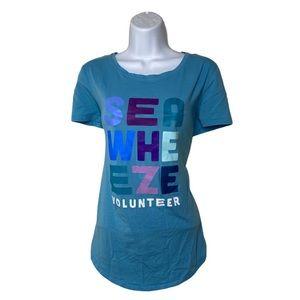 Seawheeze 2018 volunteer t shirt size 10